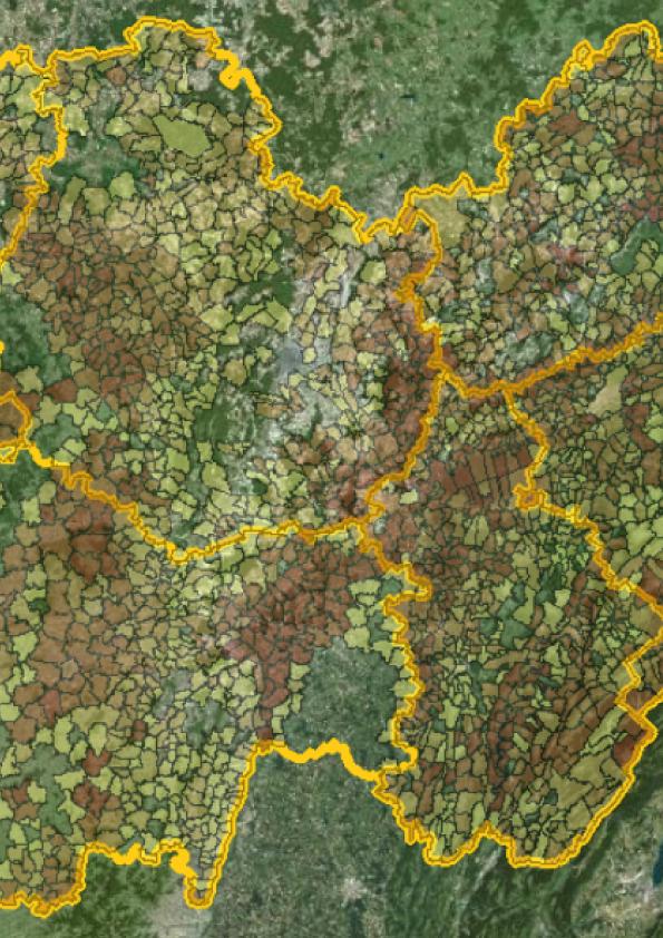 Zoom d'une carte Sigogne