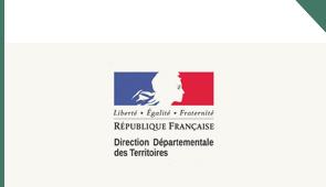 logo direction departementale des territoires