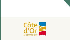 Logo département de la Côte d'Or, Bourgogne-Franche-Comté